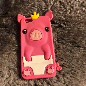 This is a iPhone six case made out of silicone